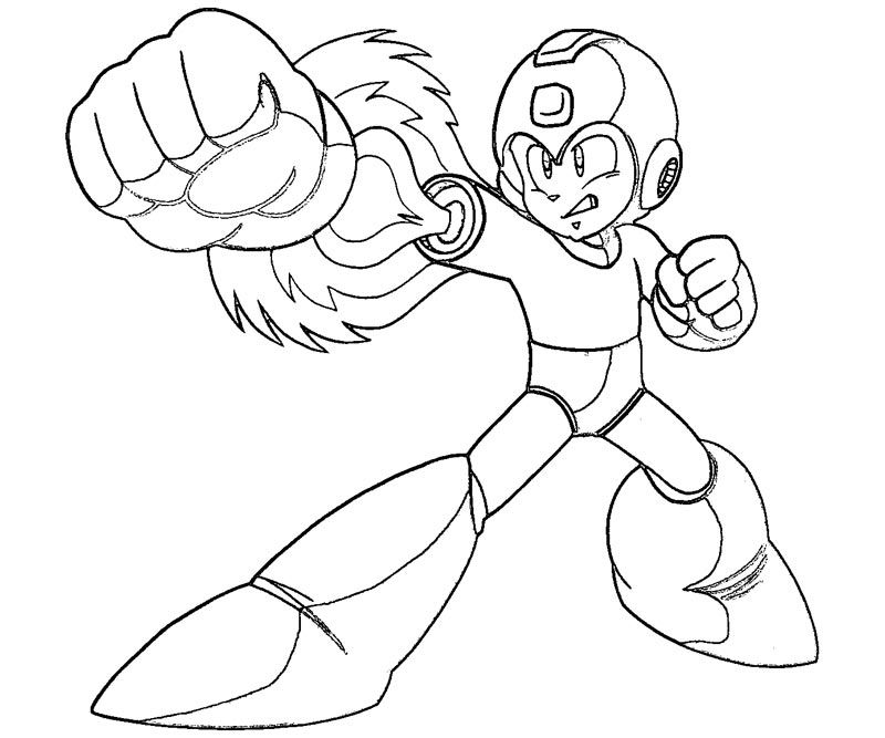 Mega Man Coloring Sheet Google Search Megaman
