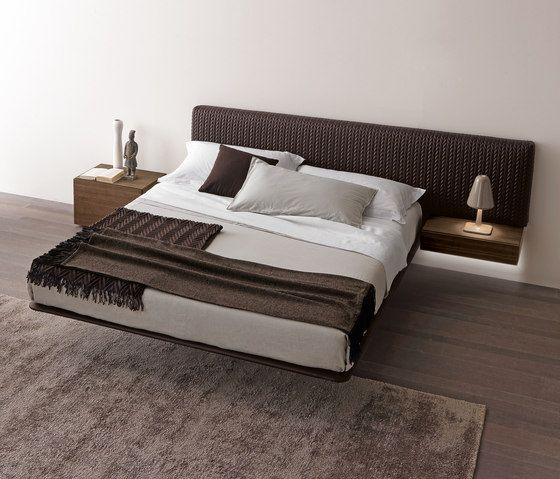 Double beds Beds and bedroom furniture Wing_system Presotto - industrial design mobel offen bilder