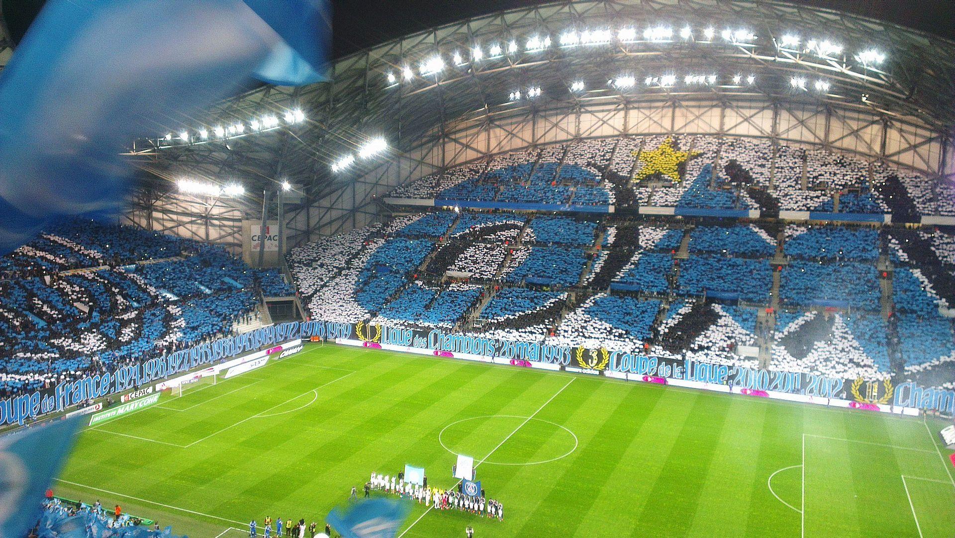 Marseille Stade Velodrome 13000 Olympique De Marseille