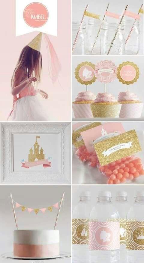 Combinacion rosado dorado me encanta