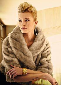 Faux Fur Jacket What To Wear A Winter Wedding
