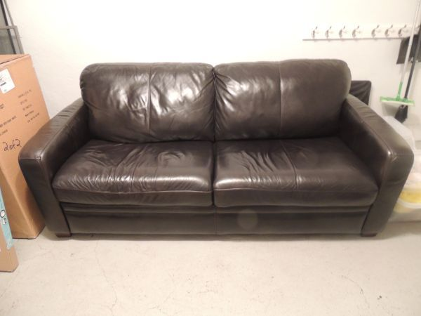 Trent Leather Queen Sleeper Sofa Dimensions L 80 x W 38 x H