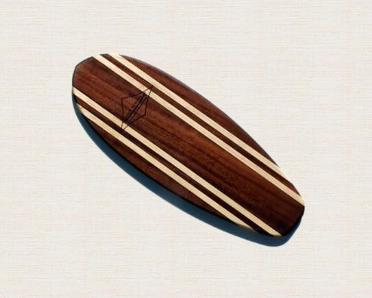 """""""The Hatteras"""" Surf Cutting Board/Platter 