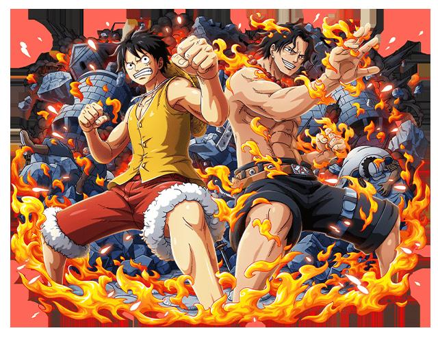 Ace and Luffy by bodskih on DeviantArt