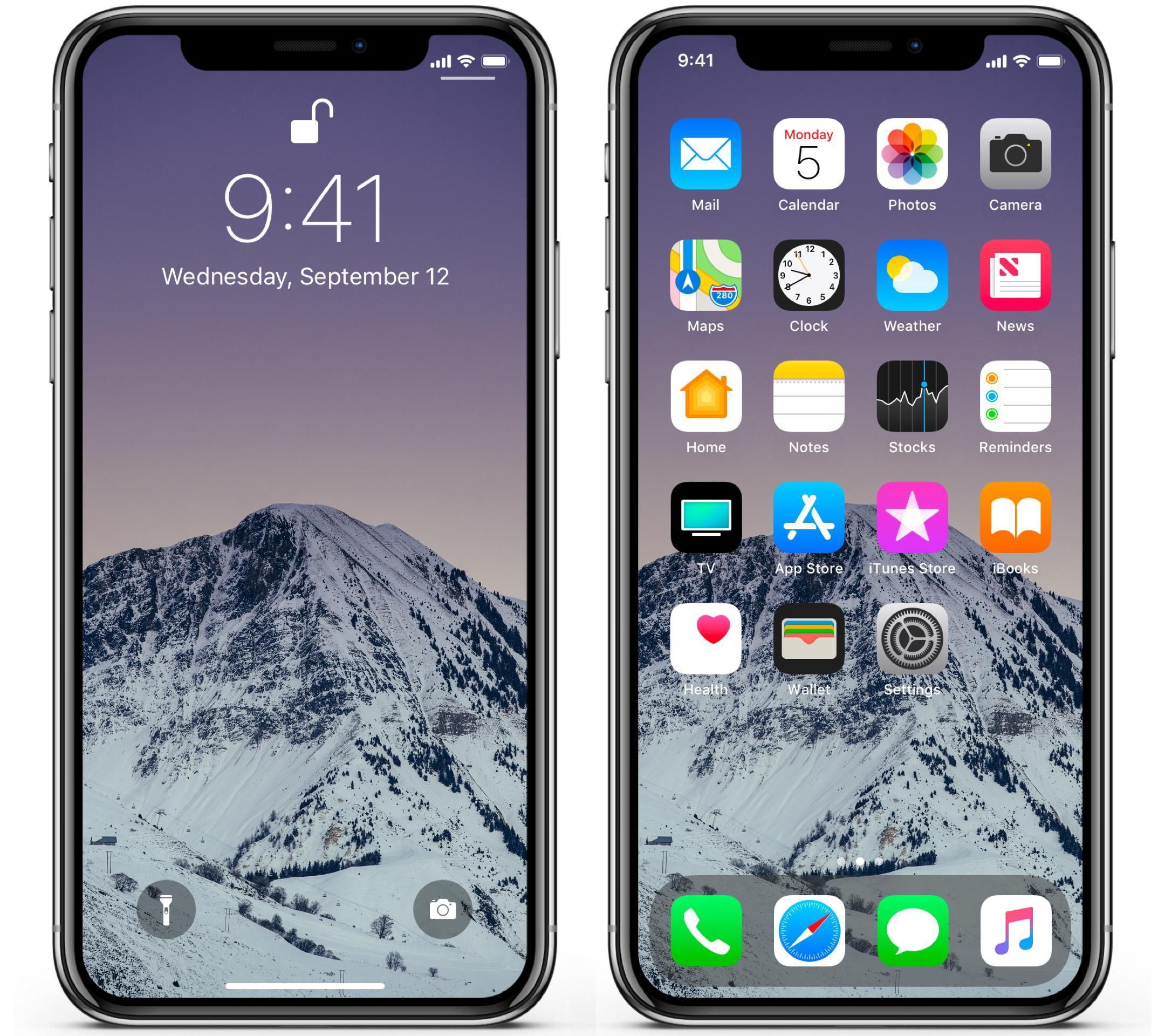 Wallpaper Day Peak Snow Snowy Mountain Twilight For Hd 4k Wallpaperday For Desktop Mobile Phones Free Download In 2020 Wallpaper Snowy Phone
