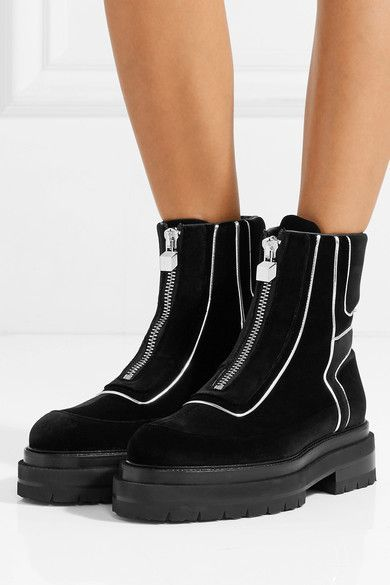 Pierre Hardy Velvet Boots pqRs9o