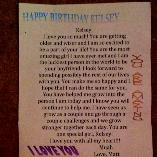 birthday letter to boyfriend i letters when i receive letters that most of 275