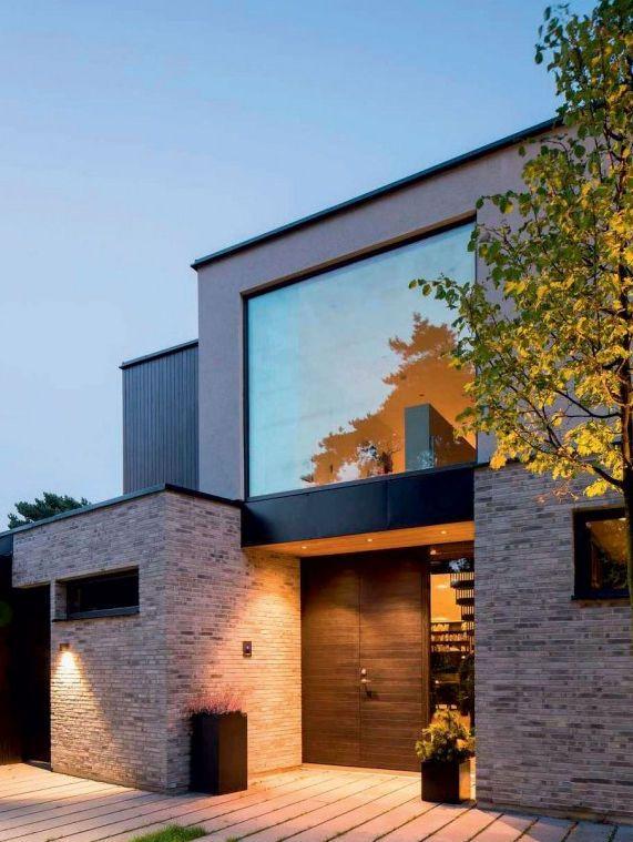 Paramento in mattoni per facciata smoked santanselmo for Stili di arredamento interni