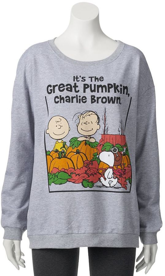 When Does Charlie Brown Halloween Come On 2020 It's the Great Pumpkin Charlie Brown Sweatshirt in 2020