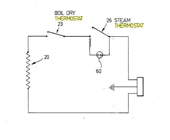 standard kettle circuit diagram fountain pinterest kettle rh pinterest com circuit diagram of electric kettle