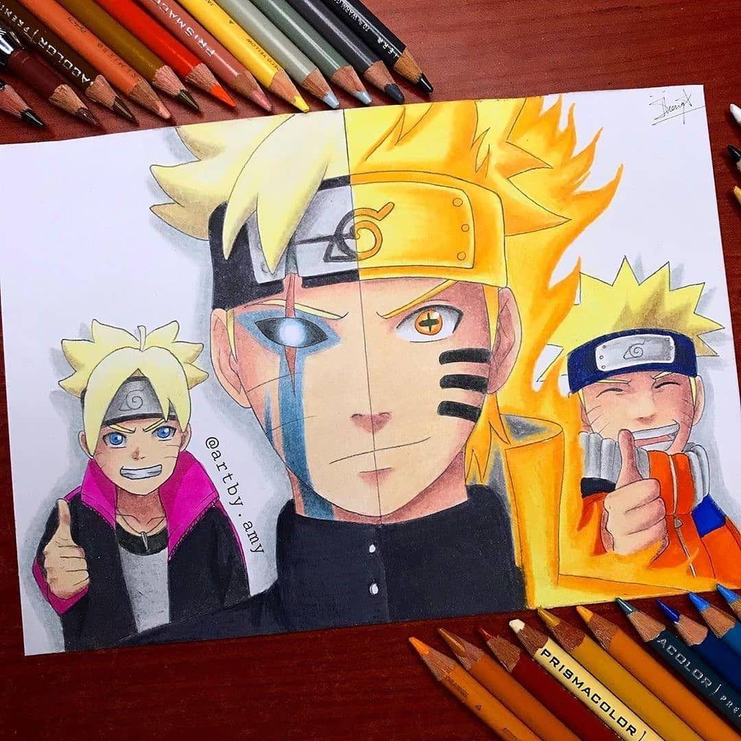 Como Desenhar Animes Em 2020 Naruto E Sasuke Desenho Arte Naruto Filmes De Anime