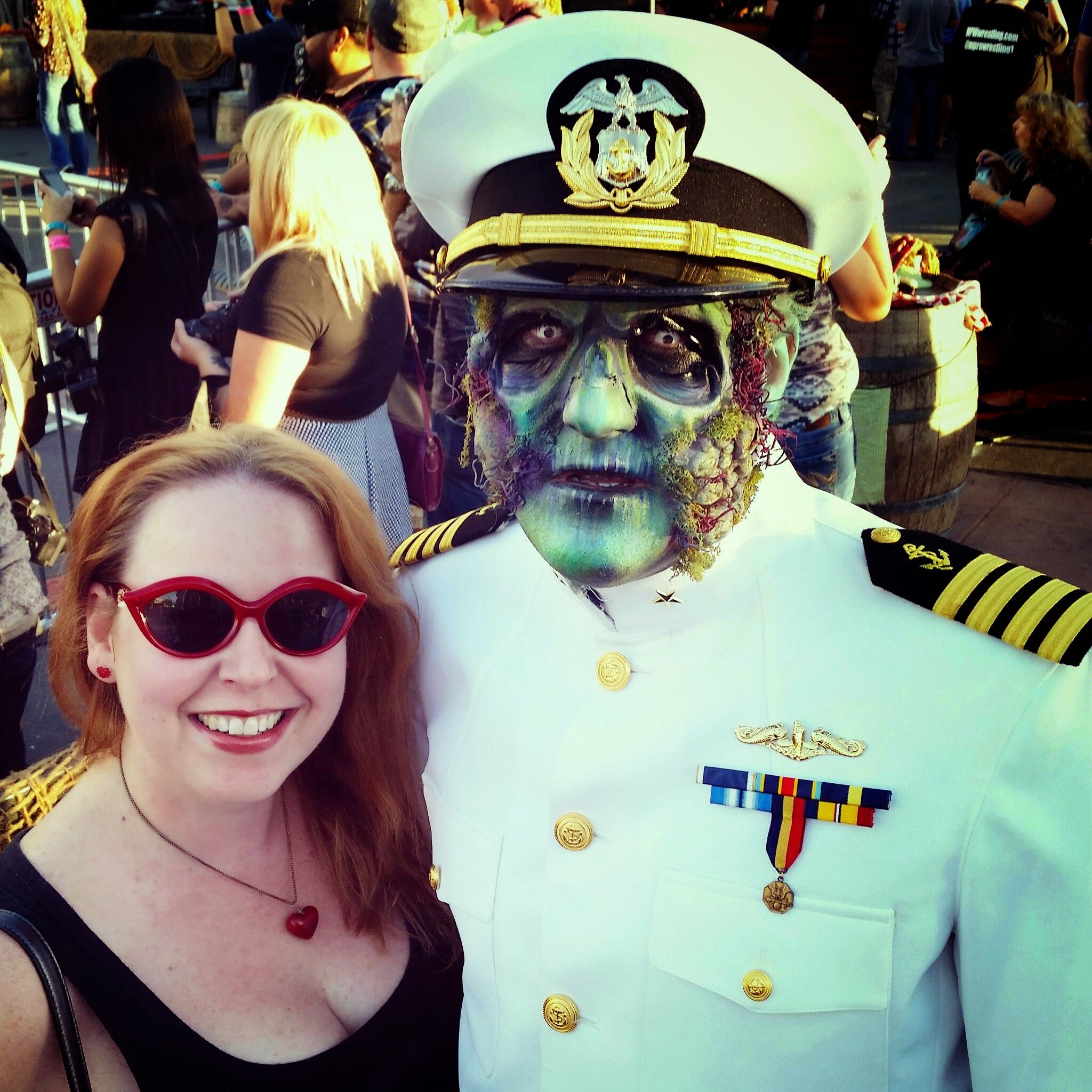 qmdarkharbor is an awesome #halloween #event on the queen mary