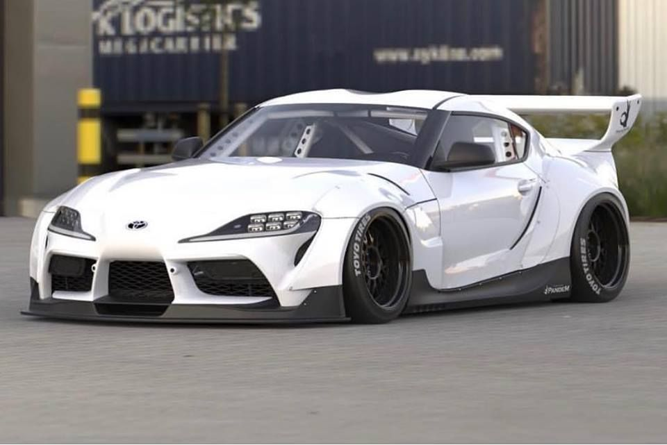 Pandem Widebody Rocket Bunny Kit For Toyota Supra Yay Or Nay Https Www Carid Com New Toyota Supra Toyota Supra Toyota Supra Mk4