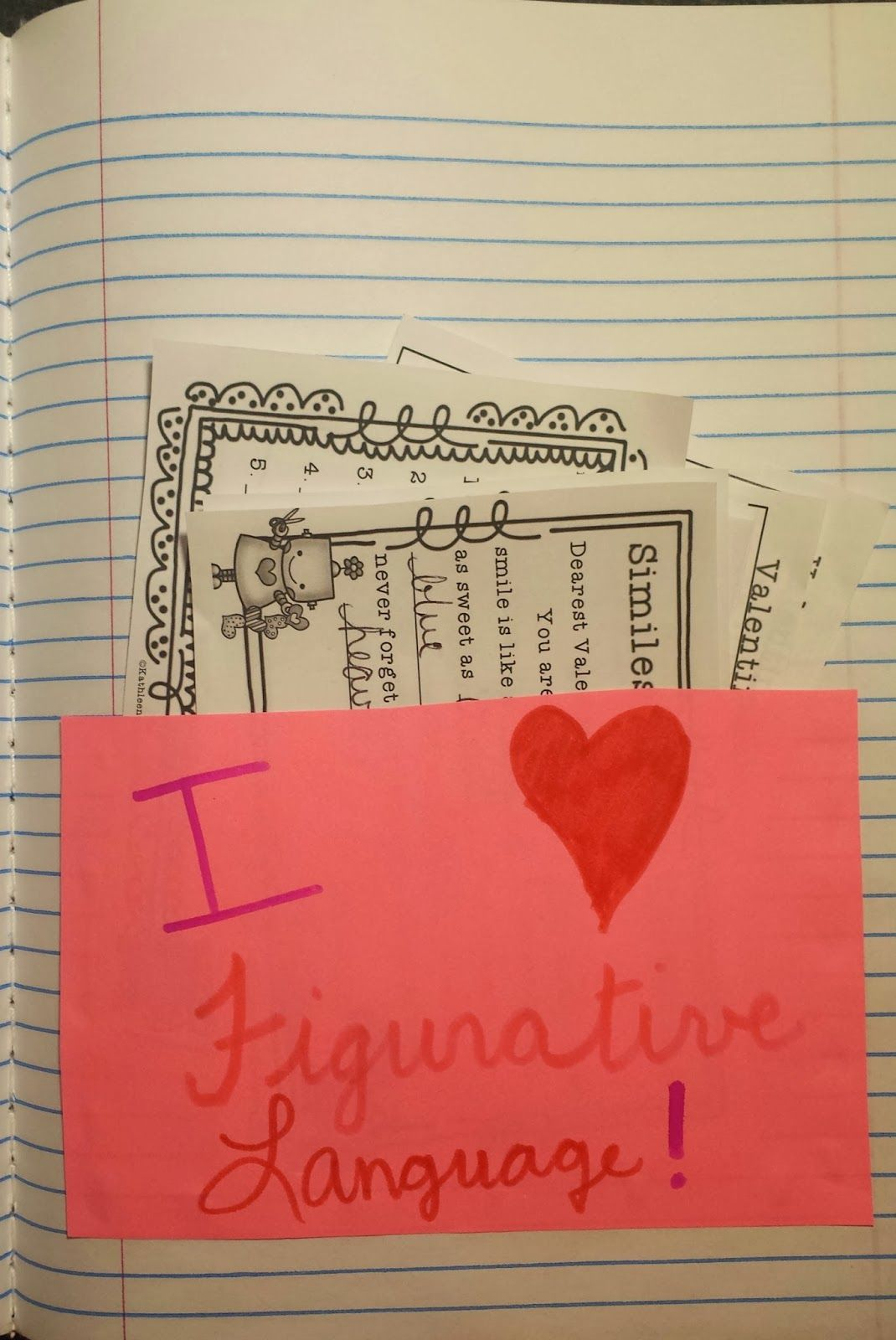 Valentine S Day Figurative Language Activities Follow