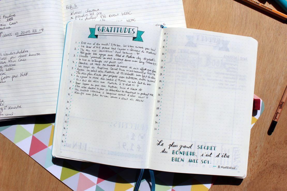Organiser son quotidien avec le Bullet Journal   Journal à ...