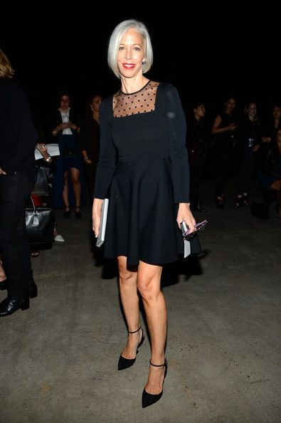 Linda Fargo Photos Photos - Linda Fargo attends the Narciso Rodriguez fashion show during Mercedes-Benz Fashion Week Spring 2015 at SIR Stage37 on September 9, 2014 in New York City. - Narciso Rodriguez - Front Row - Mercedes-Benz Fashion Week Spring 2015