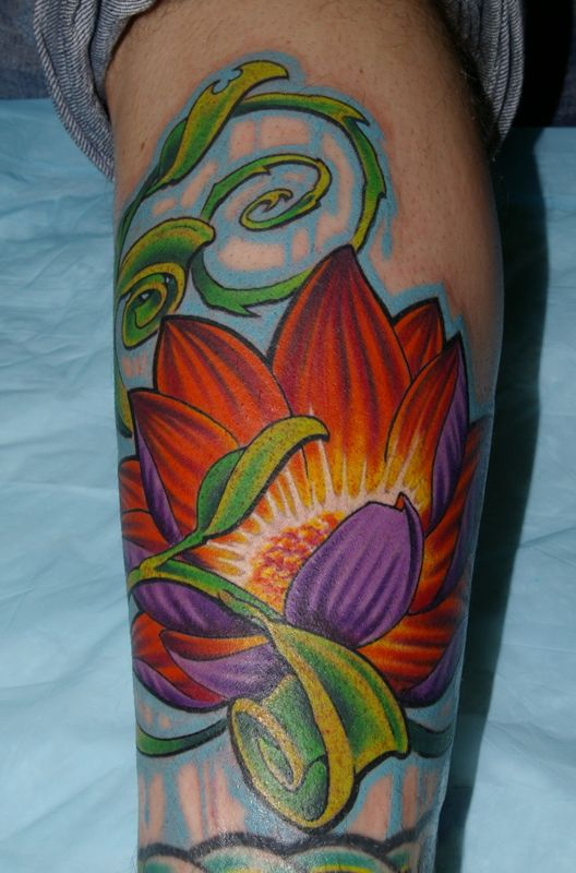 752fbe447 Jay Marceau - Tattoo Artist from Quebec City — Work Clover Tattoos, Leaf  Tattoos,