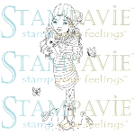 Stampavie clear stamps: Marion