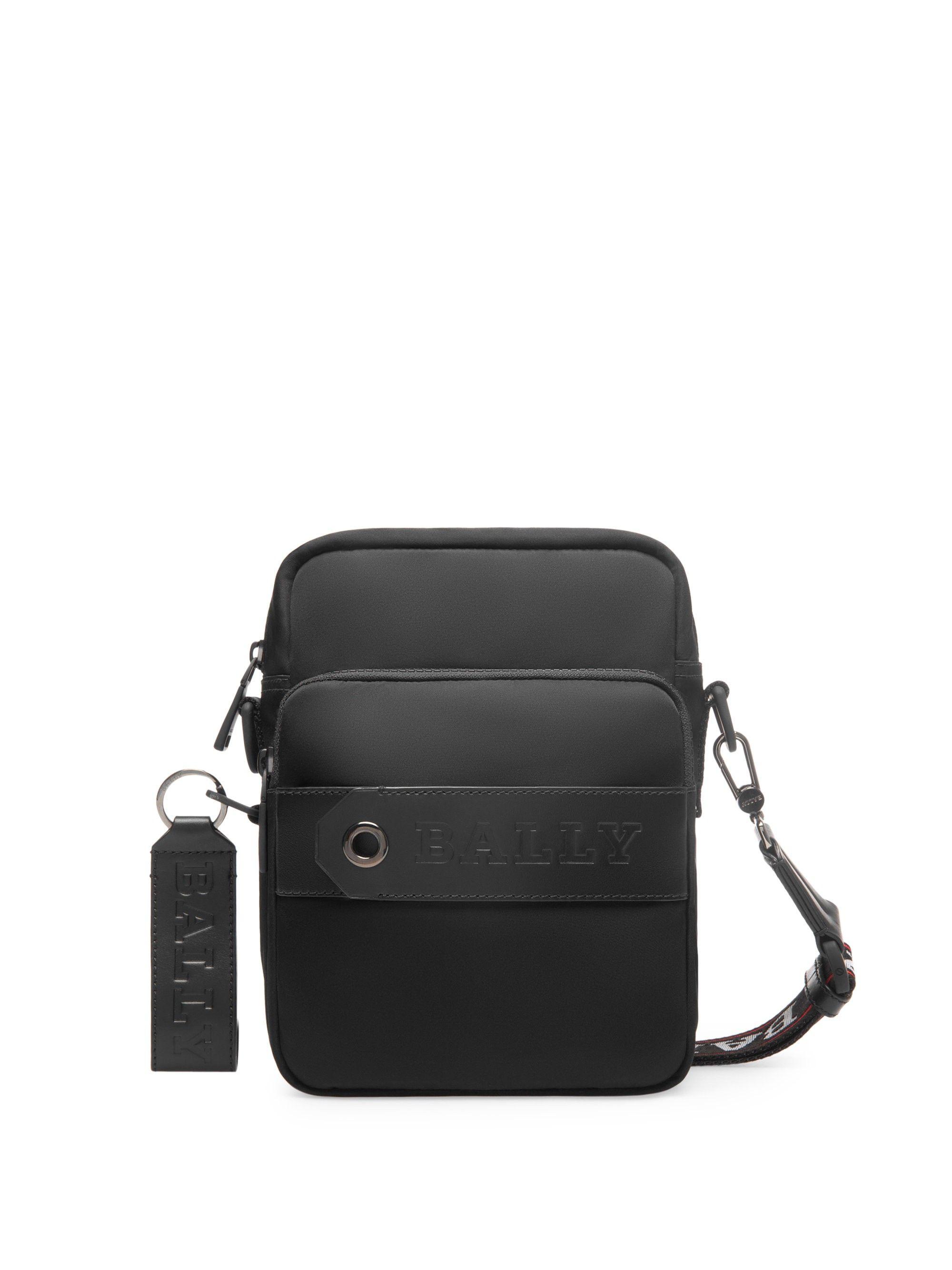 217bad1c188 BALLY Triller Crossbody Bag.  bally  bags  shoulder bags  leather  nylon   crossbody