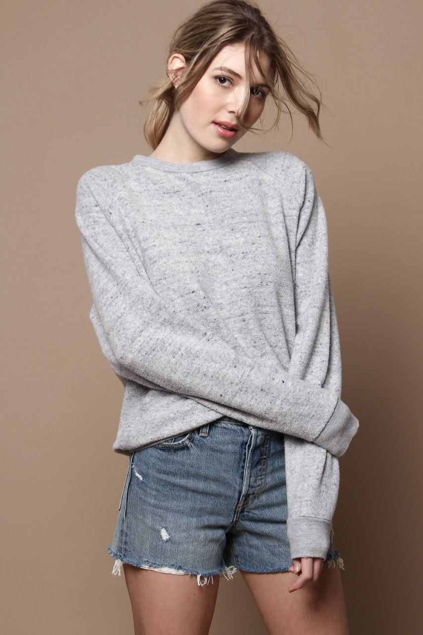 b4b37ddfaf Project Social T Salt   Pepper Pullover Sweatshirt - Gray