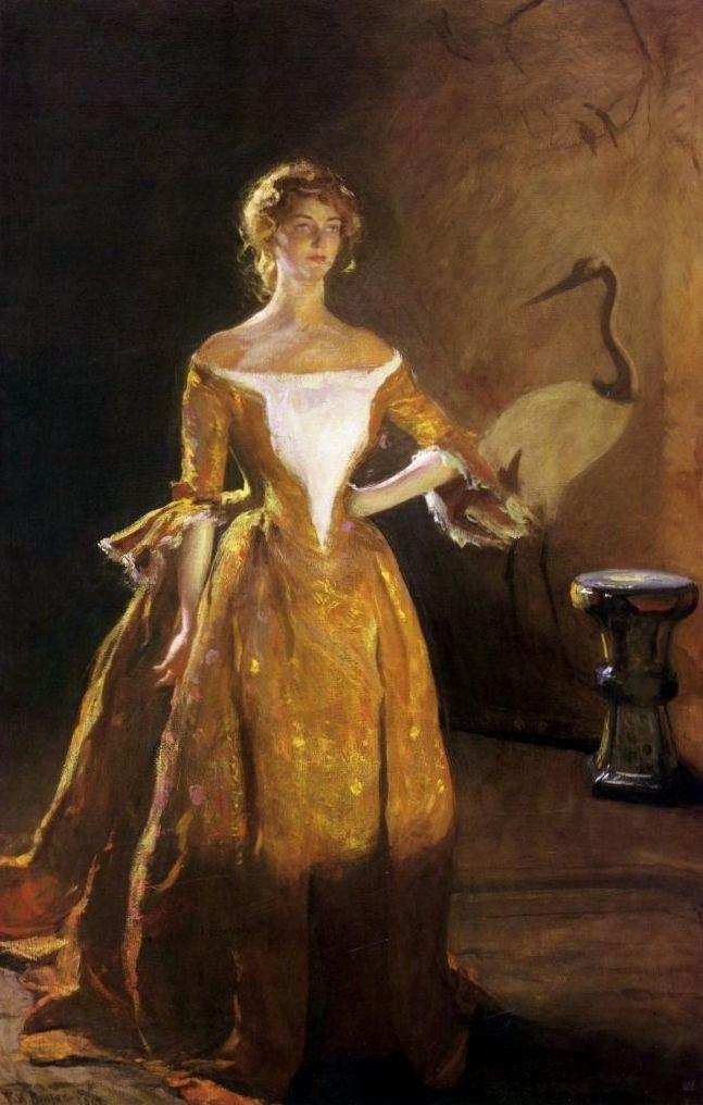 1902 Portrait Of Mary Sullivan Frank Weston Benson 1862 1951