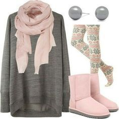 Cute Winter Outfits Teenage Girls-17 Hot Winter Fashion Ideas