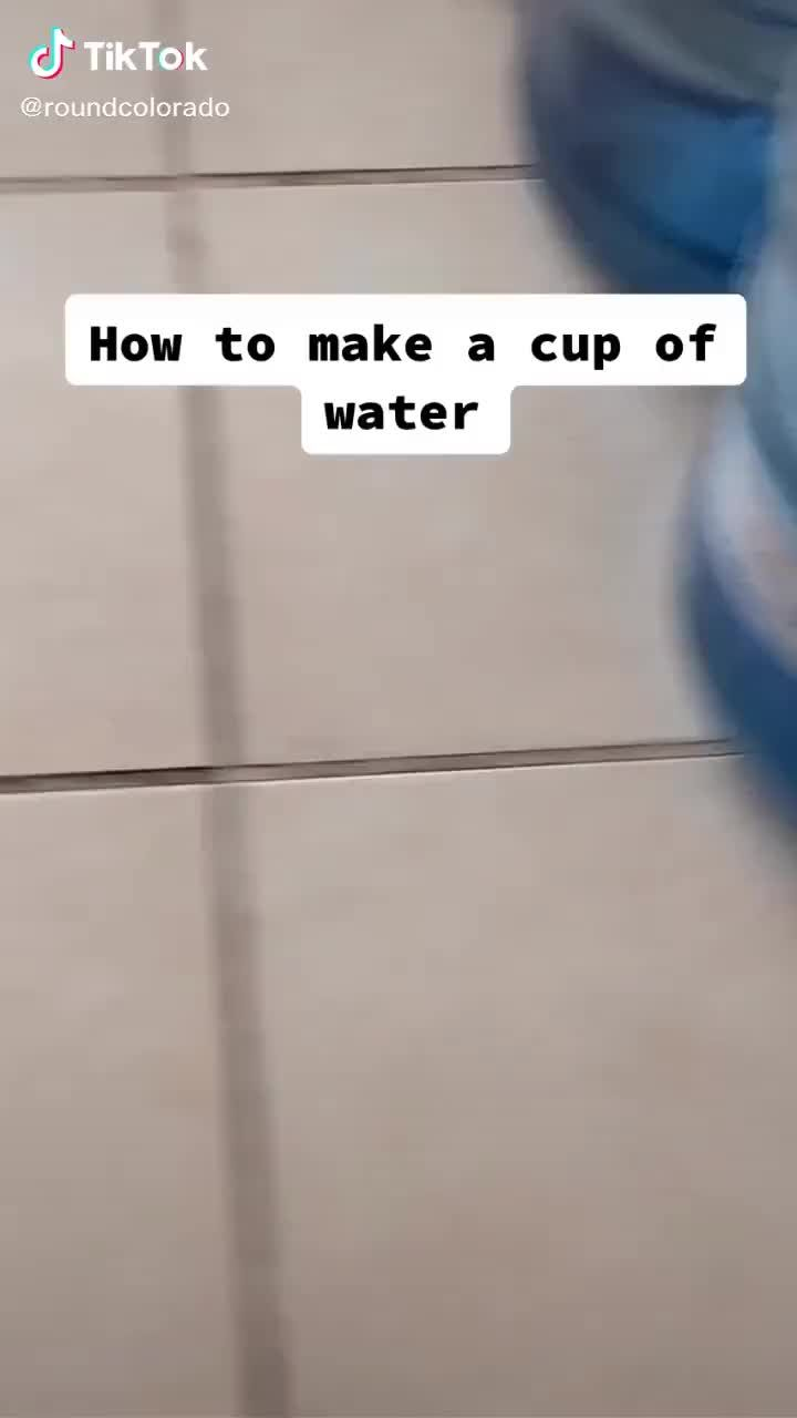 Funny Water Recipe TikTok