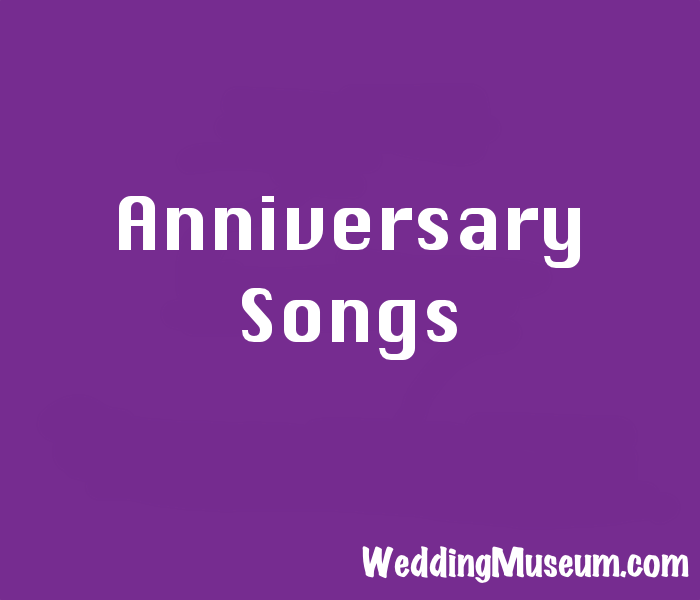 anniversary song ideas
