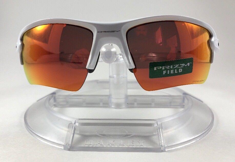 47eba0c04b5 New Brand Oakley Flak 2.0 XL Sunglasses Polished White Prizm Field OO9188-03   fashion