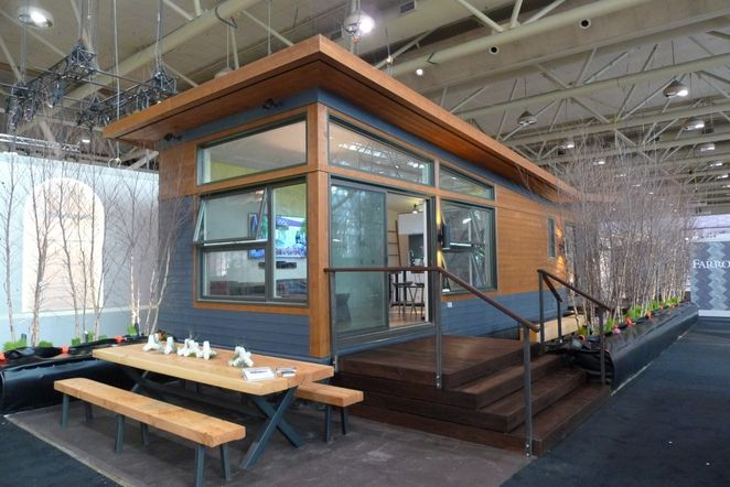 Modern prefab gets closer to the right mix of quality and price with the Solo 40 by AltiusRSA (Rapid Systems Architecture). 480 square feet for Canadian $ 93,600, or $195 PSF. They also have other models to 966 sq.ft. http://sustain.ca/models-pricing/overview/