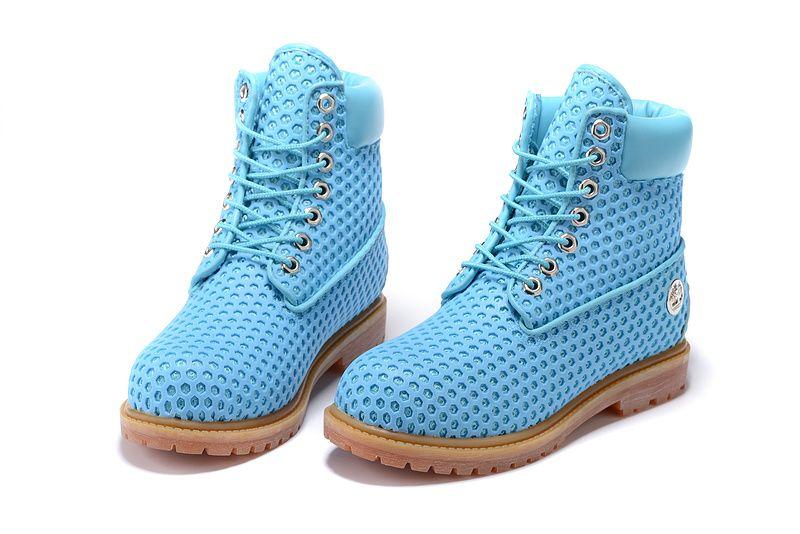 Blue Timberland Boots Women