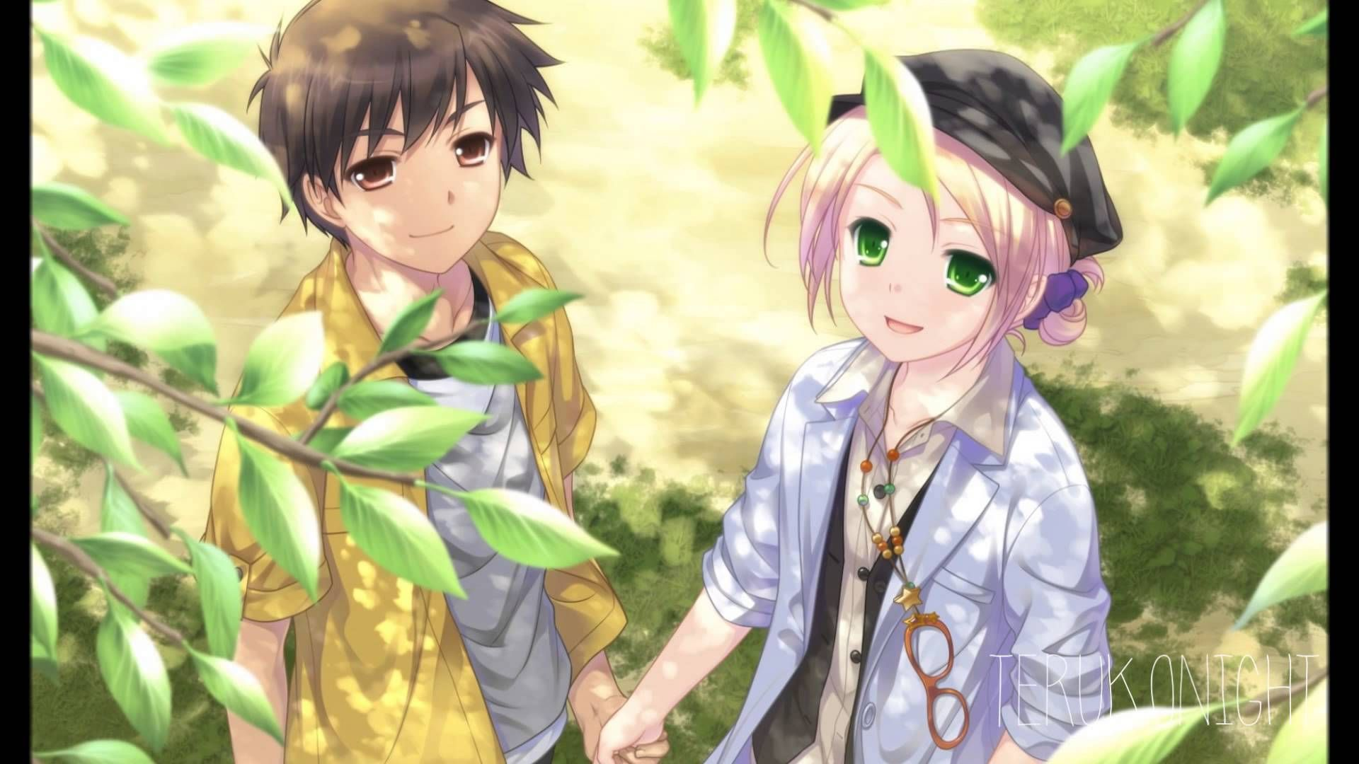 Somebody To You Nightcore Hd Cute Anime Wallpaper Anime Anime Love