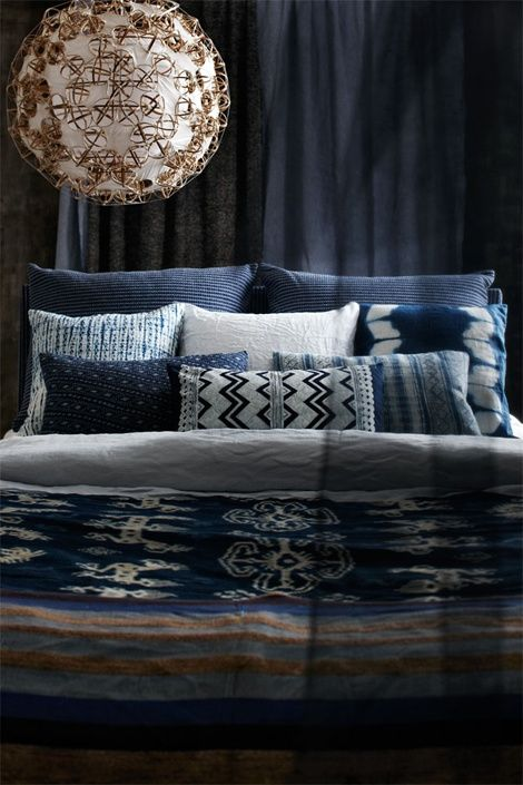 Classic Chic Meets Modern Blue And White Bedding Vanessalarson