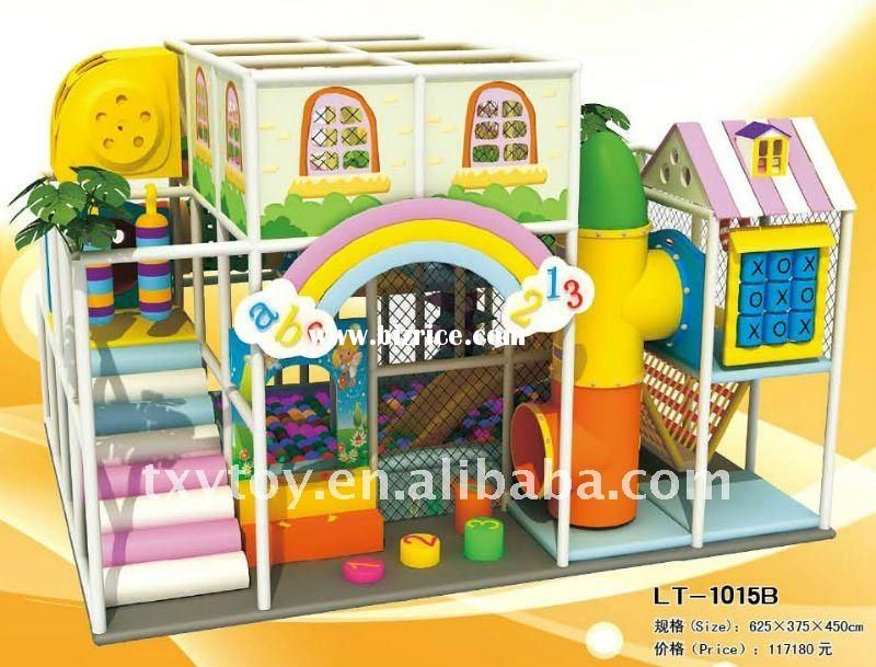 nice indoor playground, not primary coloured! | kids cafe ...