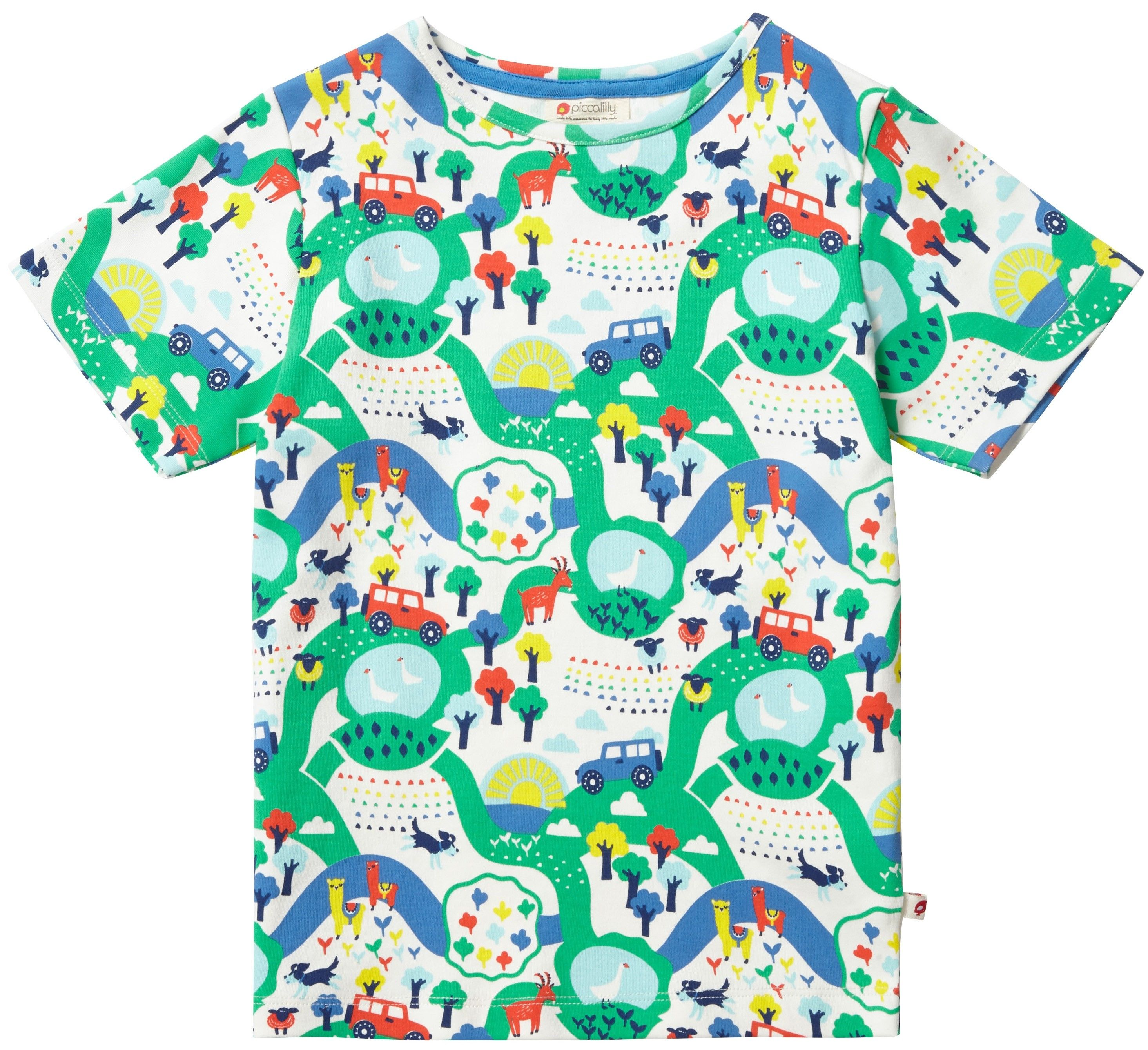 e779781e5 T-Shirt - Malham Farm | Piccalilly Spring 2019 Collection | Mens ...
