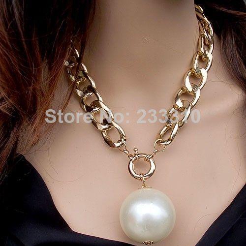 ef52ae60ada7 collares de perlas grandes - Buscar con Google
