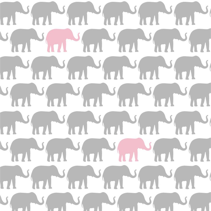 Pin By Design Lab Id Luxque Media Sha On Girls Bedroom Elephant Wallpaper Cute Wallpaper For Phone Wallpaper