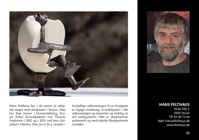 i farver 2014 Hans Felthaus Art, Danish