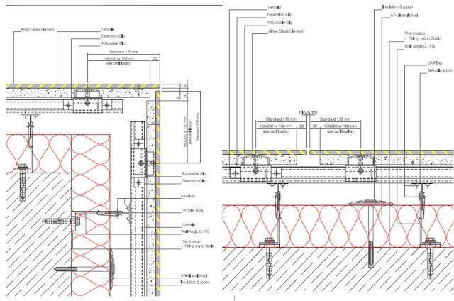 Rainscreen Cladding Plan View Details Cladding Glass