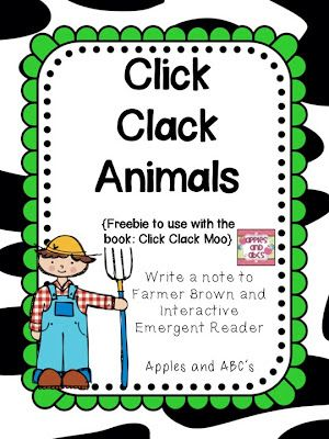 Click Clack Moo Cows That Type Activity Farm Theme Summer