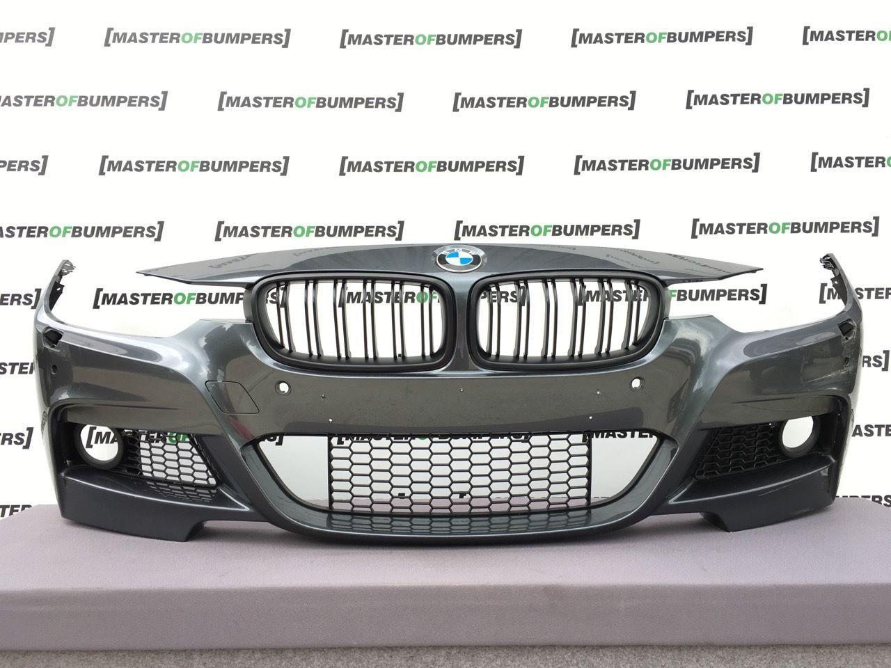 BMW 3 SERIES M SPORT F30 F31 20132017 FRONT BUMPER GREY