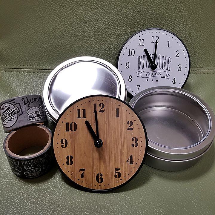 自分用が欲しくなる マグネット式 ミニ時計 By Atsuさん 画像
