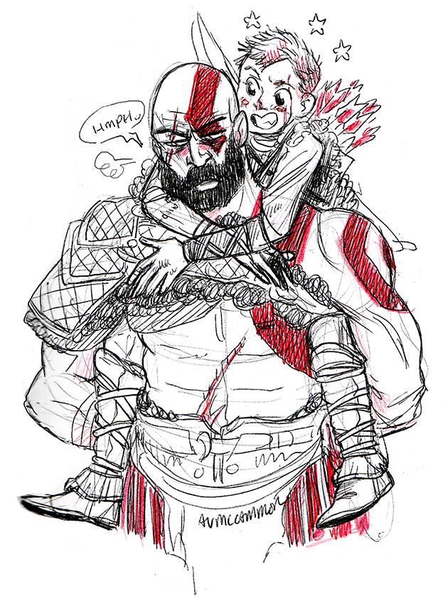 Atreus Tumblr Kratos God Of War God Of War War