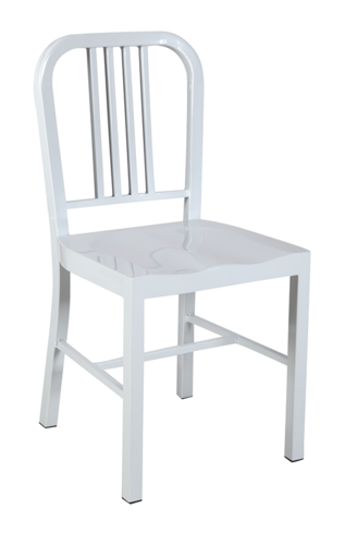 buy us navy chair replica emeco 1006 high gloss white powder coated