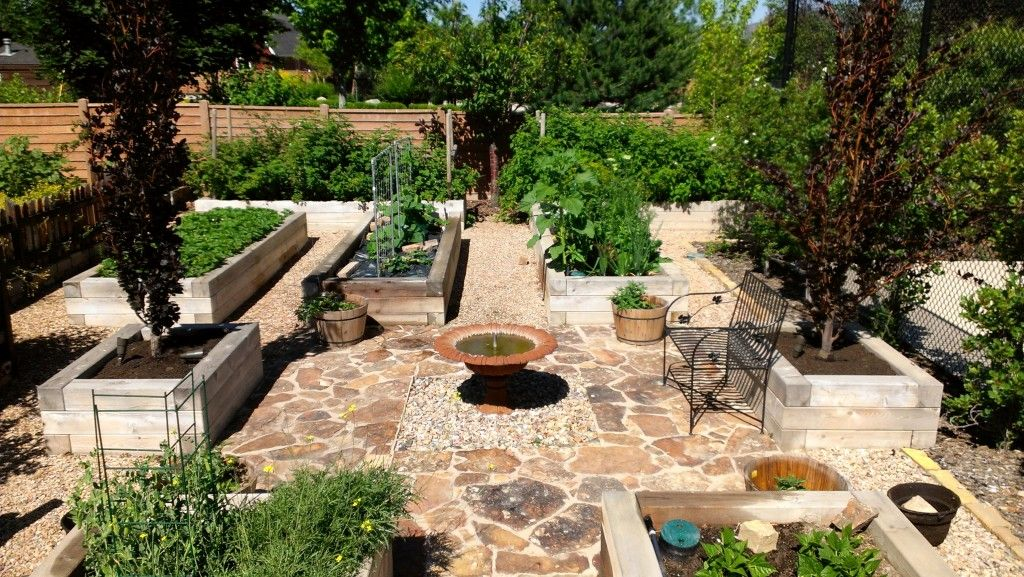 Awesome Picture of Beautiful Raised Bed Gardens Fabulous Homes