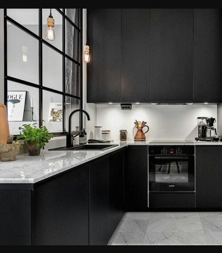 Cocinas modernas Things I love Pinterest Basements, Interiors