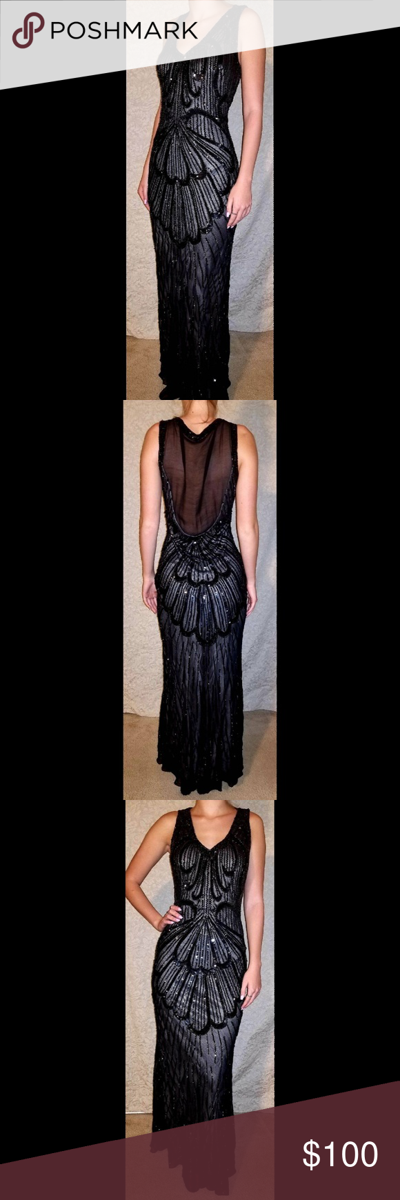 Js gown prom party formal dress in my posh picks