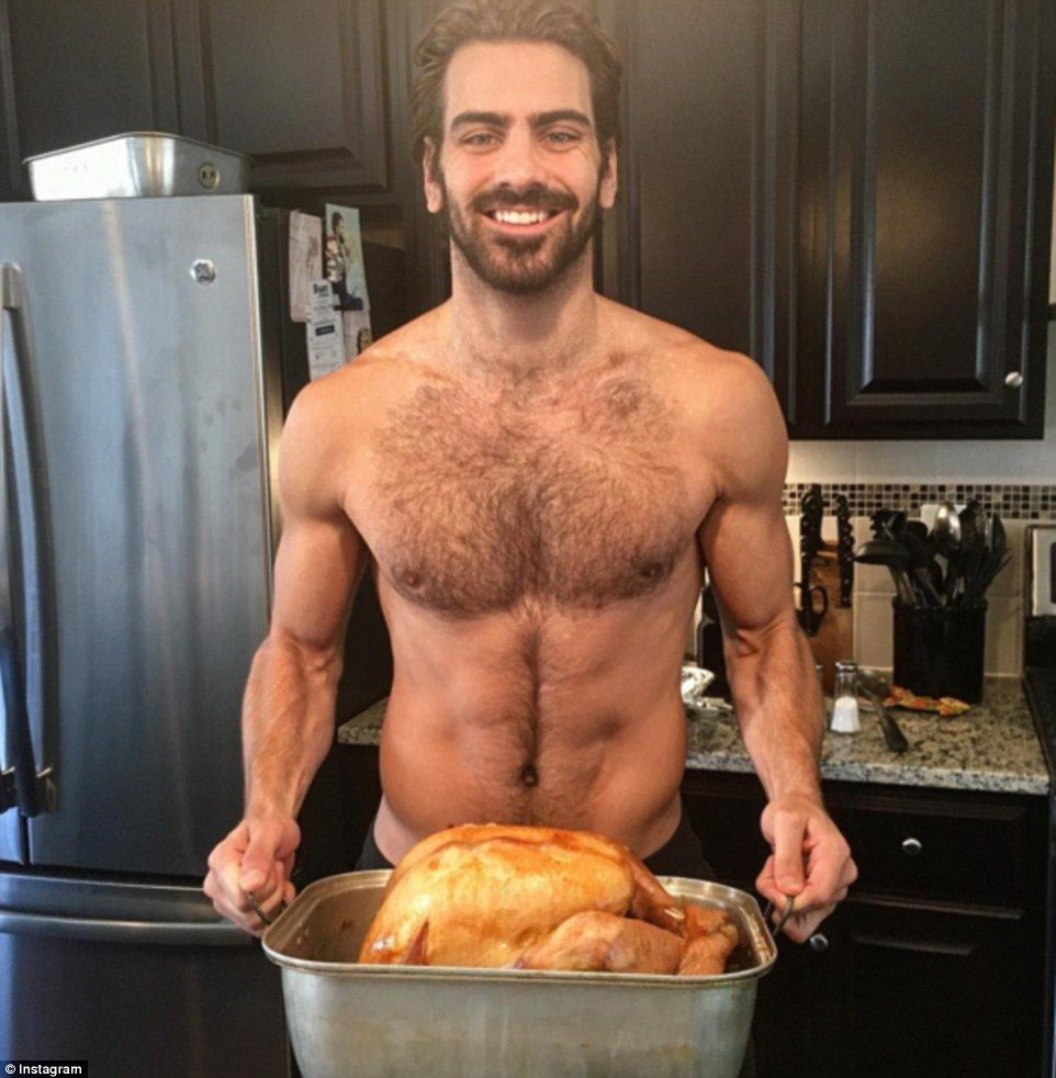 Agree, this Thanksgiving sexy men photos that's something