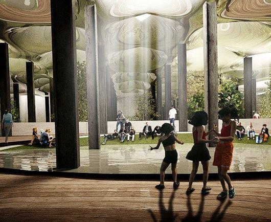 ニューヨークに今度は地下公園 Lowline しかもキックスターターで10万ドルのファンディング成功 公園 地下 高架