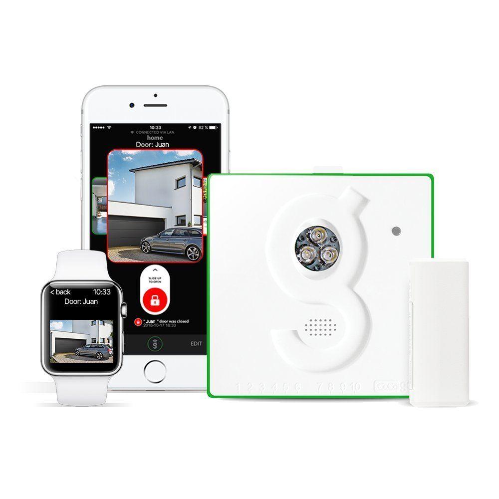 Gogogate2 Is A Garage Door Sensor You Can Control Using Your Smartphone Http Extragizmo Com 2017 06 23 Gogogate2 Garage Door Sensor Smartphone Garage Doors